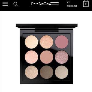 MAC cosmetics Solar Glow Times Nine Shadow Palette